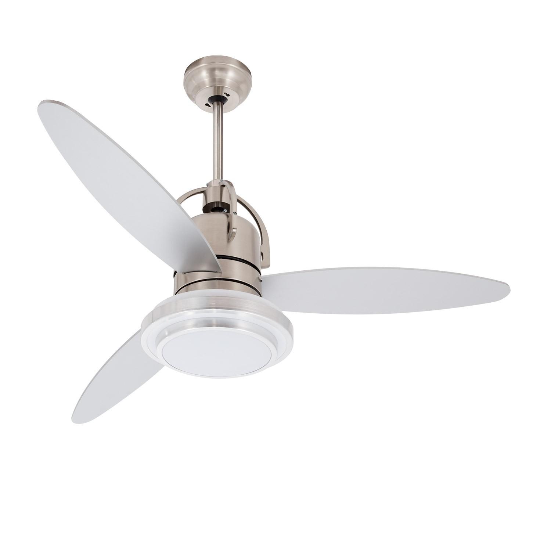 Ventilador de Techo LED 18W Plata 48YFT