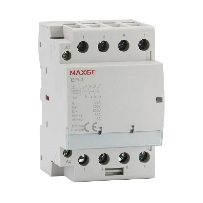 Contacteur MAXGE 4P-63A-230V AC