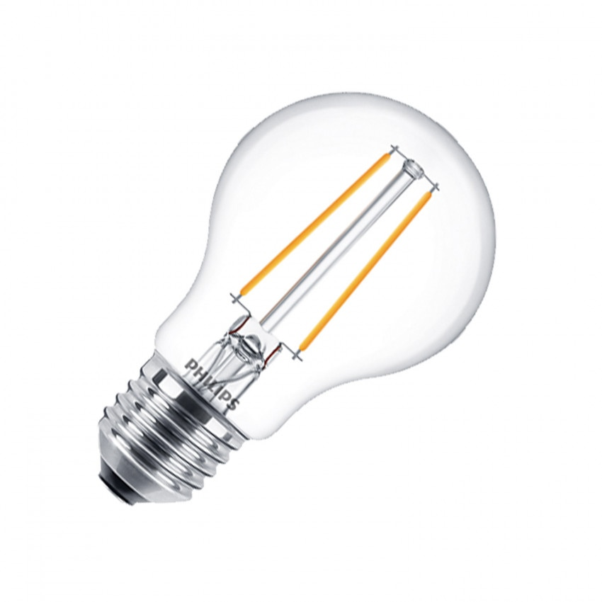 Ampoule LED E27 Filament PHILIPS CLA Classic A60 5.5W