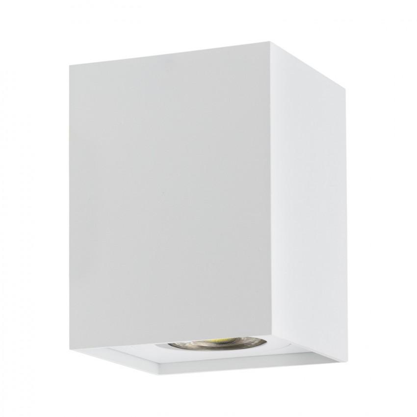 Plafonnier Jaspe Aluminium Blanc
