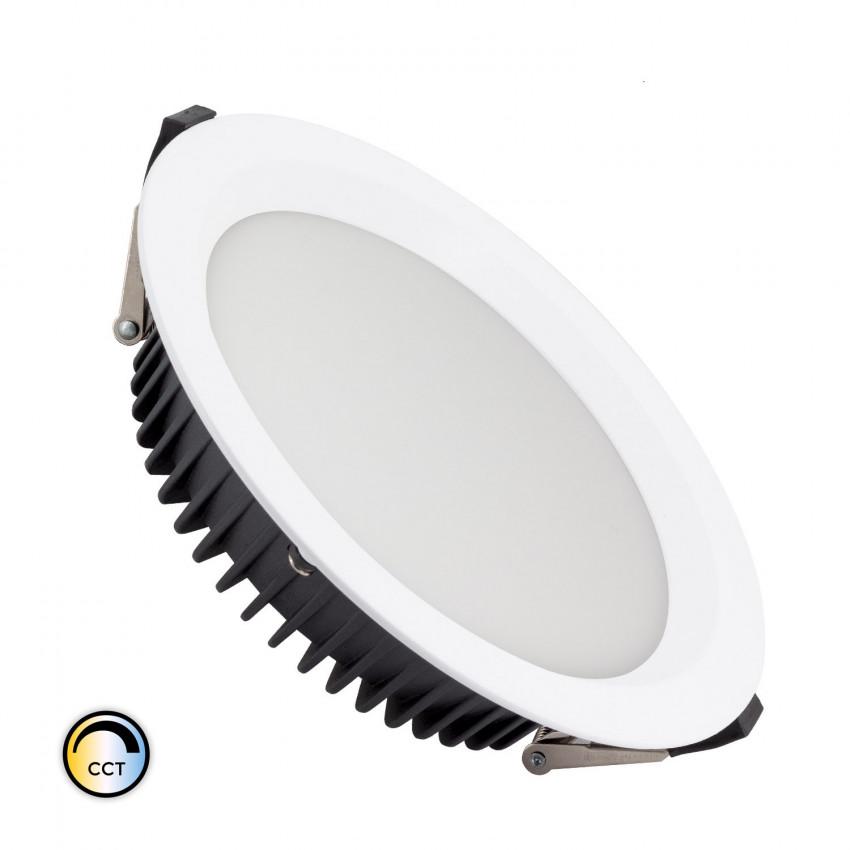 Downlight LED SAMSUNG New Aero Slim CCT Sélectionnable 130lm/W 30W (UGR19) LIFUD Coupe Ø 200mm