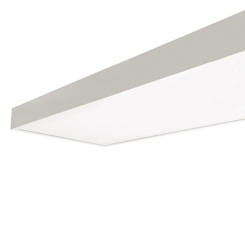 Panneau LED 120x30cm 40W 4000lm Microprismatique (UGR17) LIFUD + Kit en Saillie