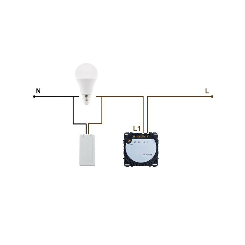 Adaptateur Module LED anti-scintillement Composants électriques