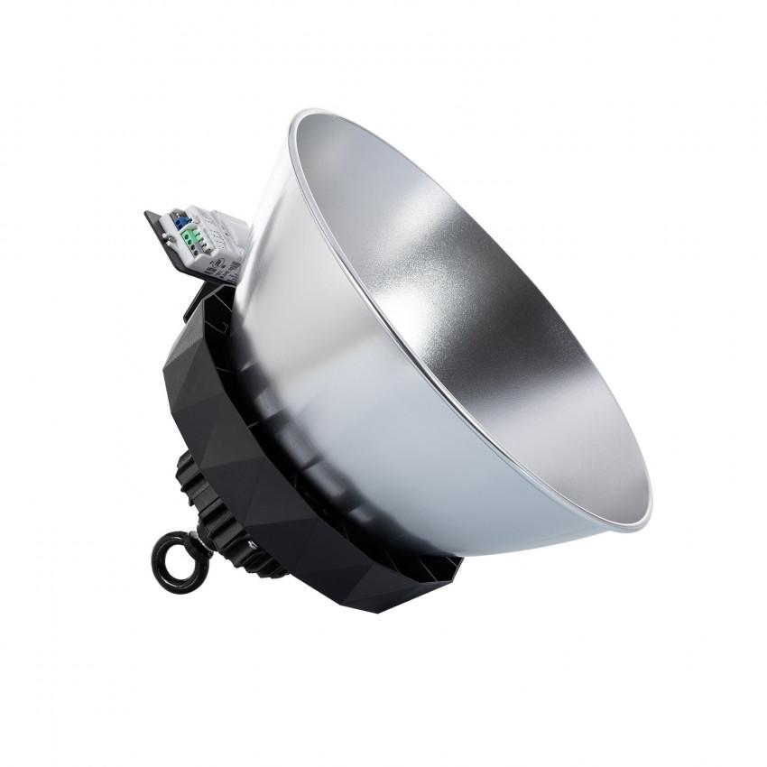 Cloche LED UFO HBS SAMSUNG 150W 175lm/W LIFUD Dimmable No Flicker avec Détecteur Mouv., Crép. et Réflecteur