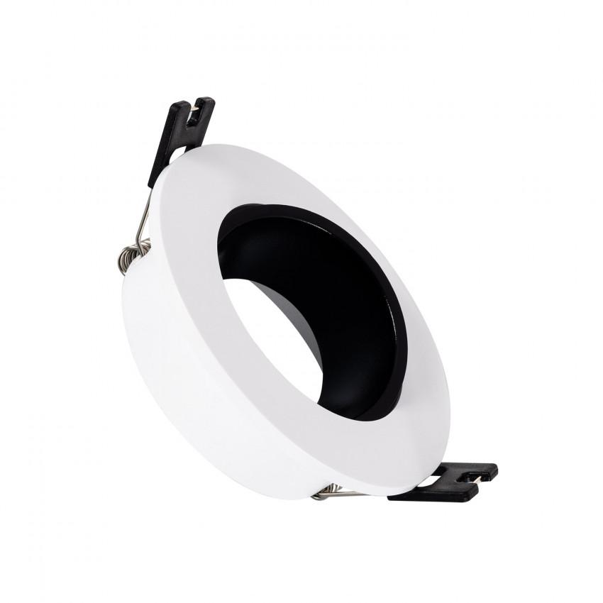 Collerette Downlight Conique Faible UGR PC Noir pour Ampoule LED GU10 / GU5.3
