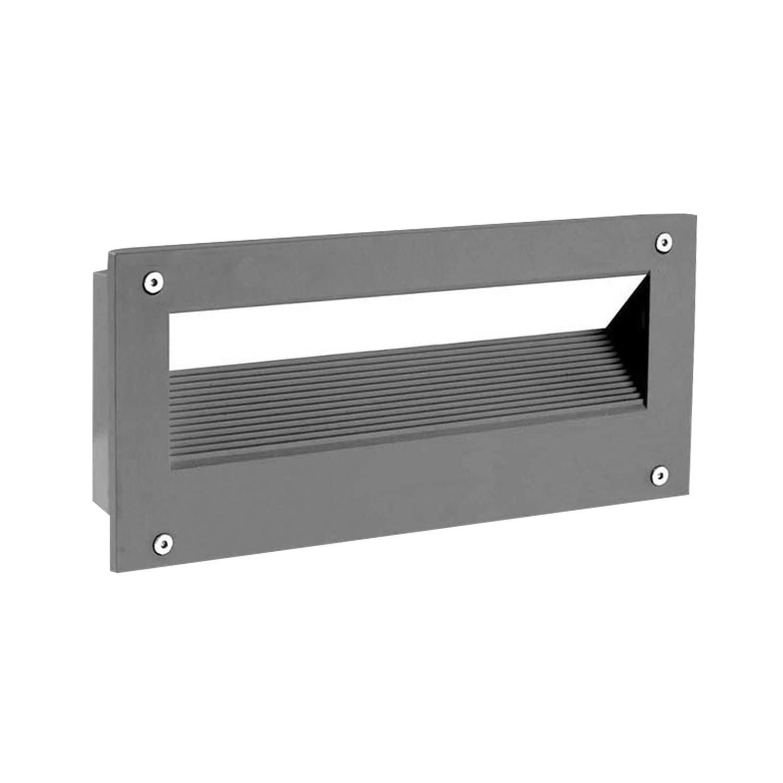 Aplique Empotrable en Pared LED Micenas Rectangular 5,5W LEDS-C4 05-9832-Z5-CL
