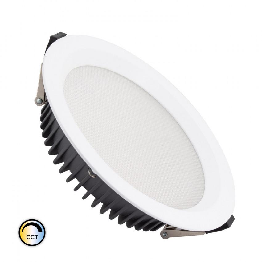 Downlight LED SAMSUNG New Aero Slim CCT Sélectionnable 130lm/W 40W (UGR17) LIFUD Coupe Ø 200mm