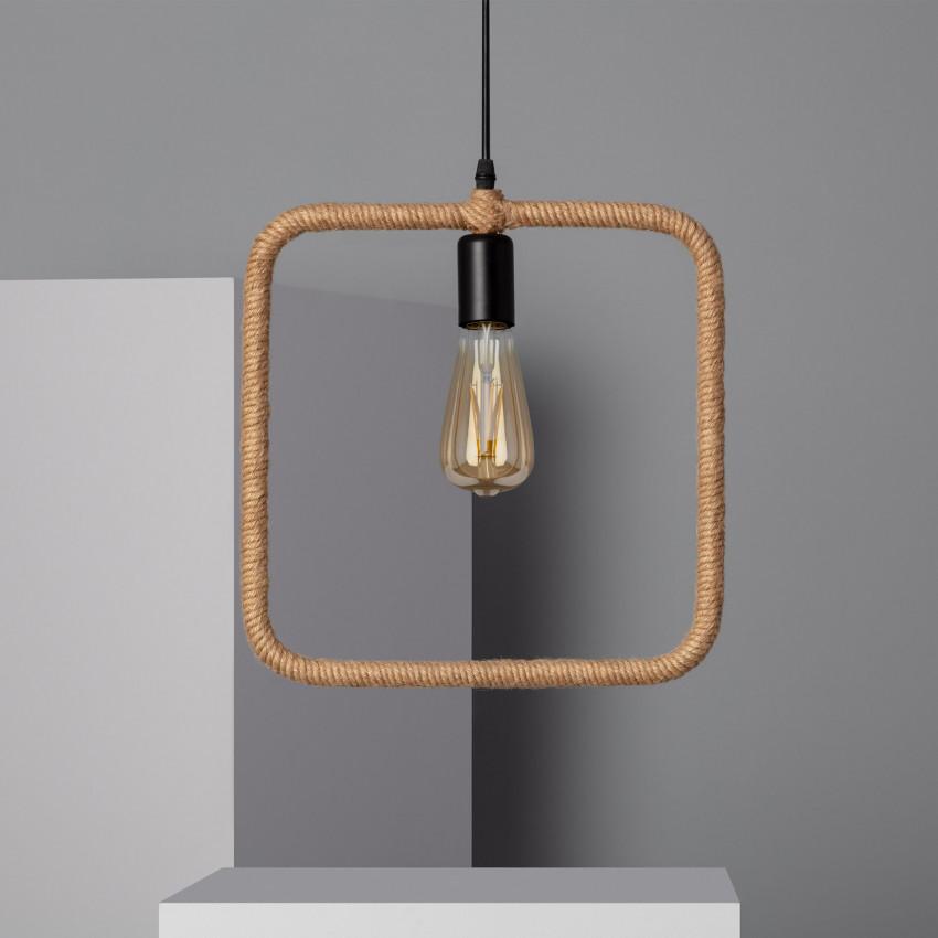 Lampe Suspendue Maumbo Carrée