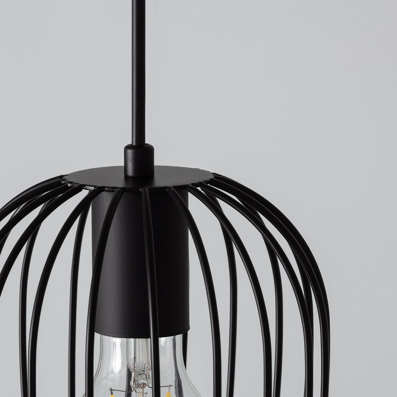 Lámpara Telmi 3x Negro
