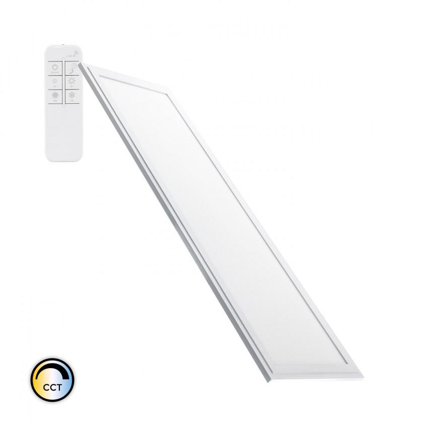 Panneau LED Dimmable CCT Sélectionnable 120x30cm 40W 3600lm