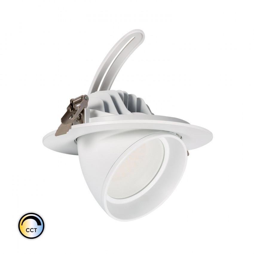 Projecteur LED SAMSUNG 125lm/W Orientable Rond 38W CCT PHILIPS CertaDrive