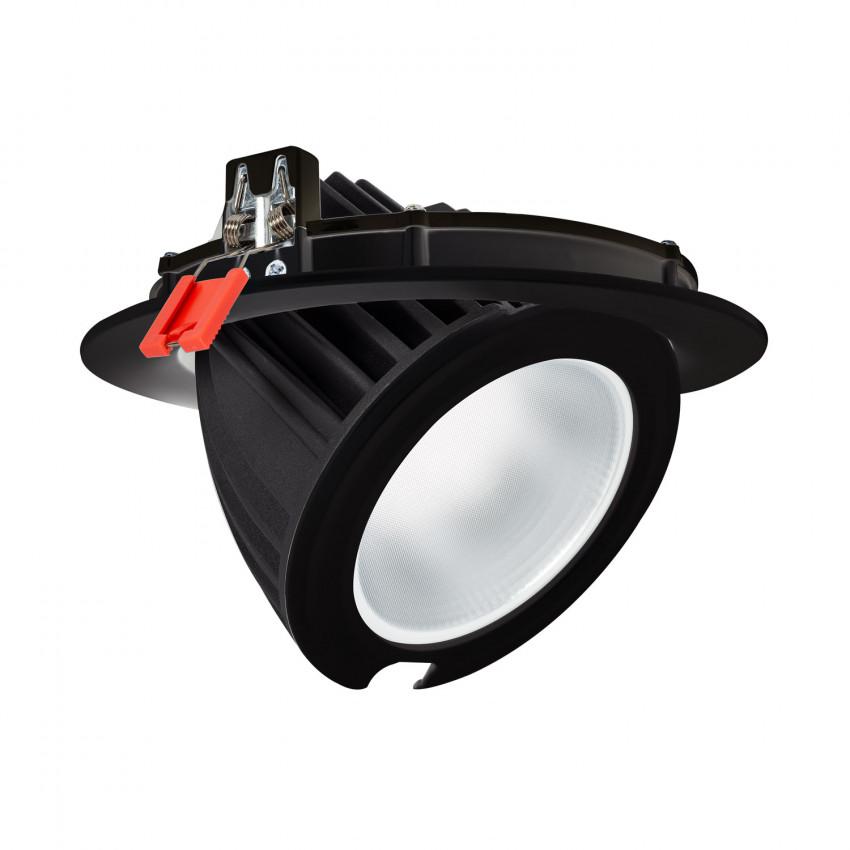 Projecteur LED SAMSUNG 125lm/W Orientable Rond 60W Noir LIFUD