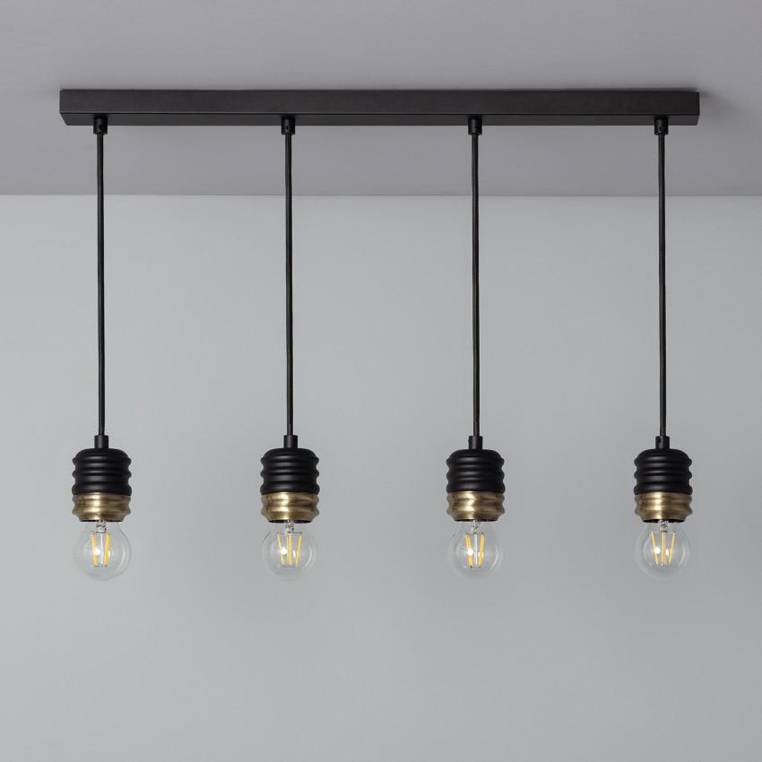 Lampe Suspendue Rugat 4 Spots