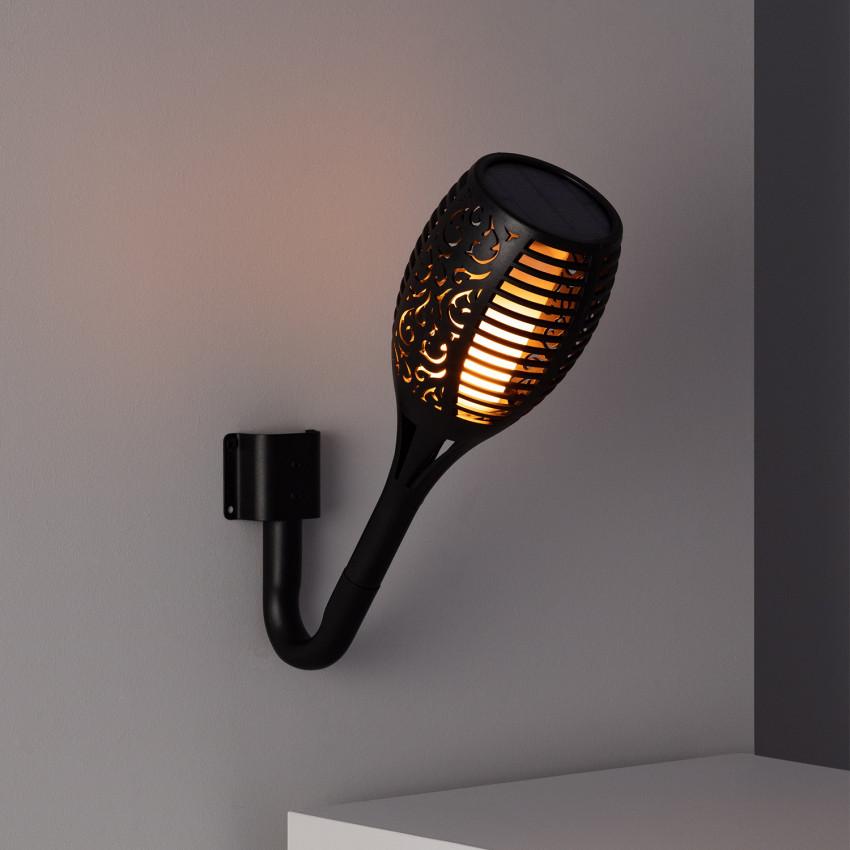 Applique Torche Solaire LED Effet Flamme
