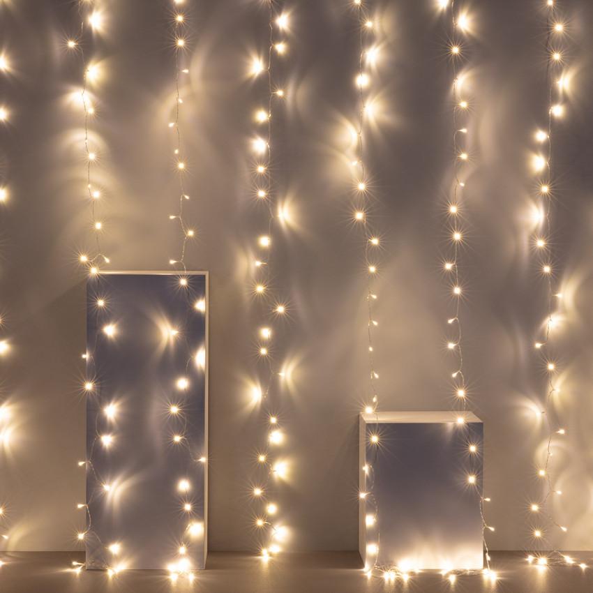 Rideau de Guirlande LED 3m