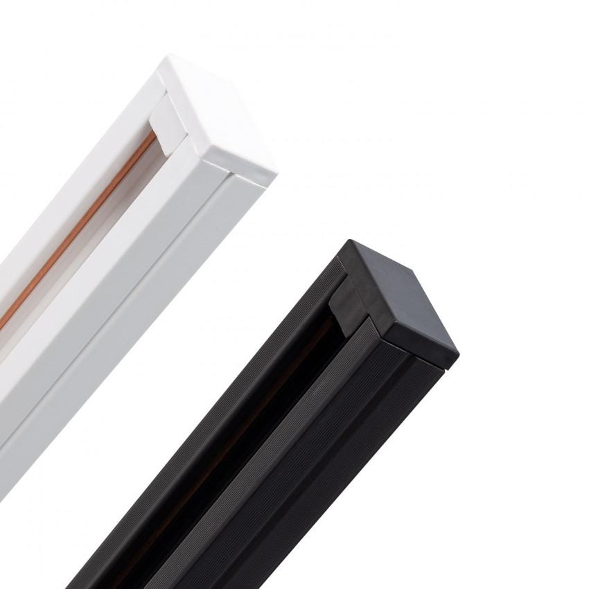 Rail Biphasé PC 1 Mètre pour Spots LED