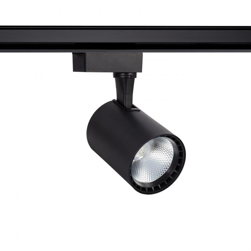 Spot LED Bron 20W Noir pour Rail Monophasé