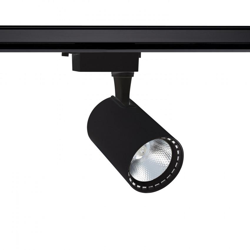 Spot LED Bron 30W Noir pour Rail Monophasé