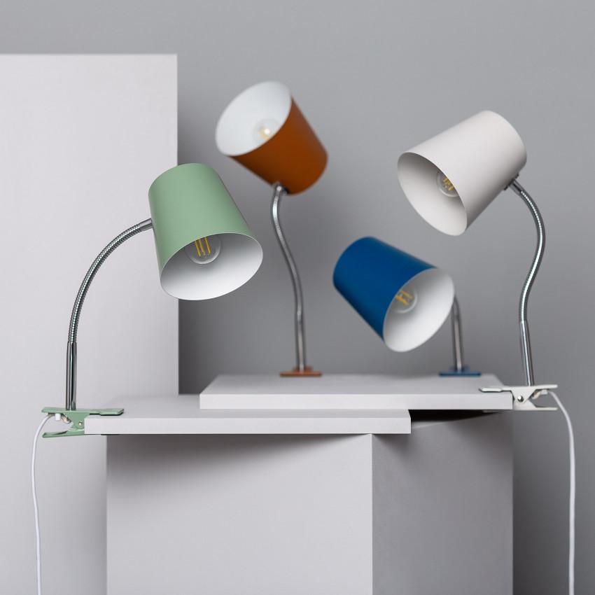 Lampe de Bureau Flex Delavan avec Pince