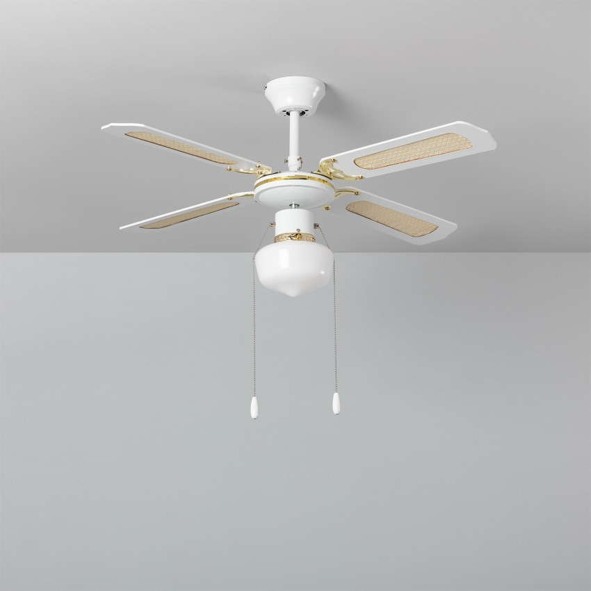 Ventilateur de Plafond Havoc Blanc 103cm Moteur AC