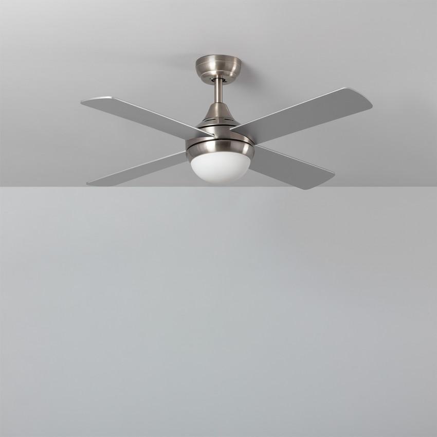 Ventilateur de Plafond Navy Nickel 110cm Moteur AC