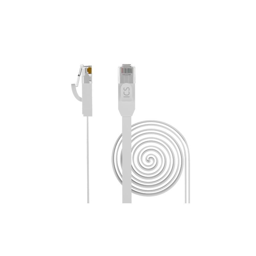 Câble Réseau U/UTP FLAT Patch Ethernet RJ45 CAT6 OPENETICS 67400 Cordon de 0.5m jusqu'à 5m