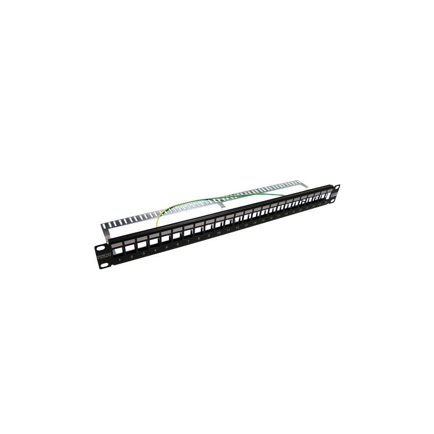 Panneau Vide Slim 24 ports UTP-FTP 1U OPENETICS 05619