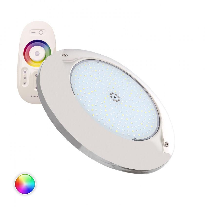 Spot LED Piscine en Saillie Inox RGBW 12V DC 20W