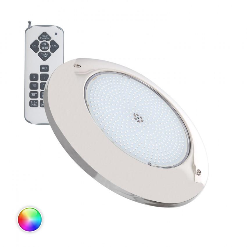 Spot LED Piscine en Saillie Inox RGB 12V AC 35W