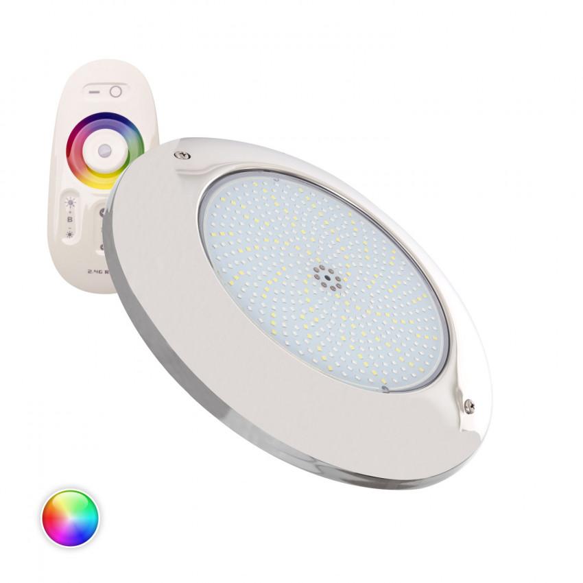 Spot LED Piscine en Saillie Inox RGBW 12V DC 35W