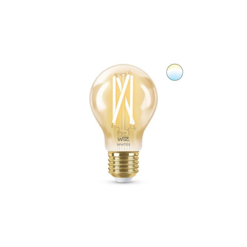 Ampoule LED Smart WiFi E27 A60 CCT Dimmable WIZ Filament Vintage 6.7W