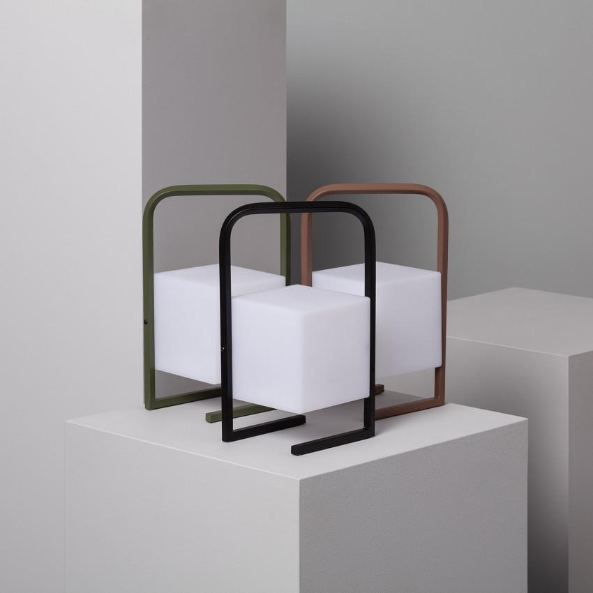 Lampe à Poser LED Portatif Tiber 2.5W pour Extérieur avec Batterie Rechargeable USB