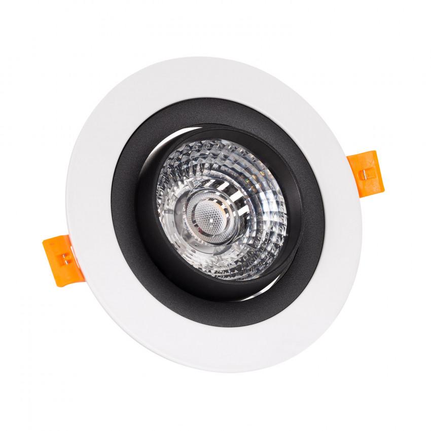 Spot Downlight LED COB Orientable 360º Rond 18W Design Coupe Ø 120mm