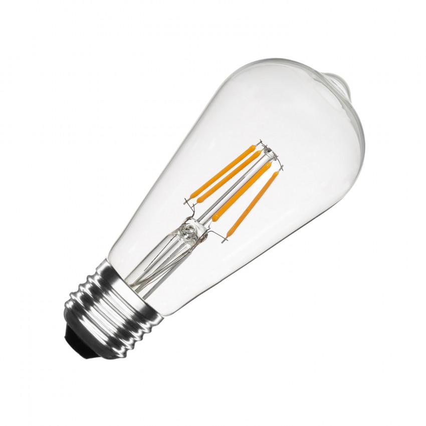 Ampoules LED E27 Dimmable Filament Big Lemon ST64 5.5W