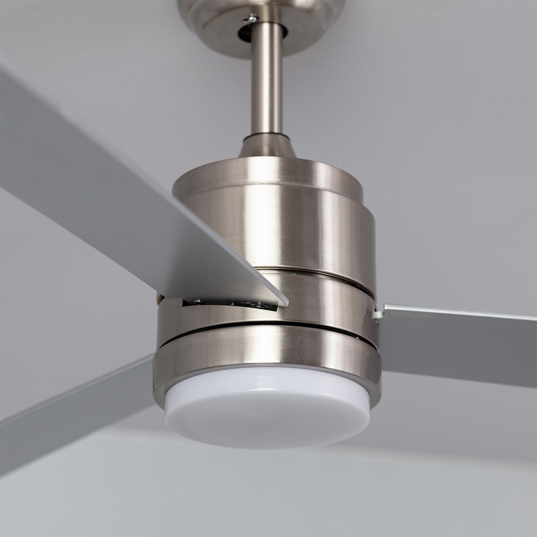 Ventilador de Techo Atlantis LED Niquel 40W