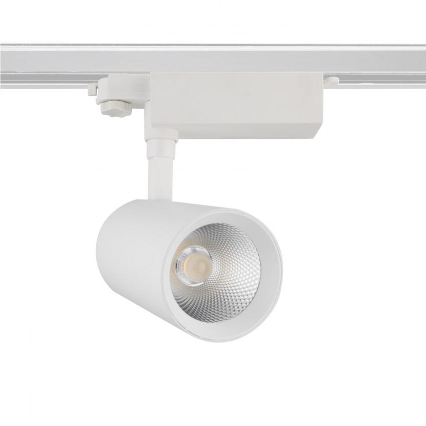 Spot LED Bertha 30W LIFUD Blanc pour Rail Triphasé (3 Allumages)