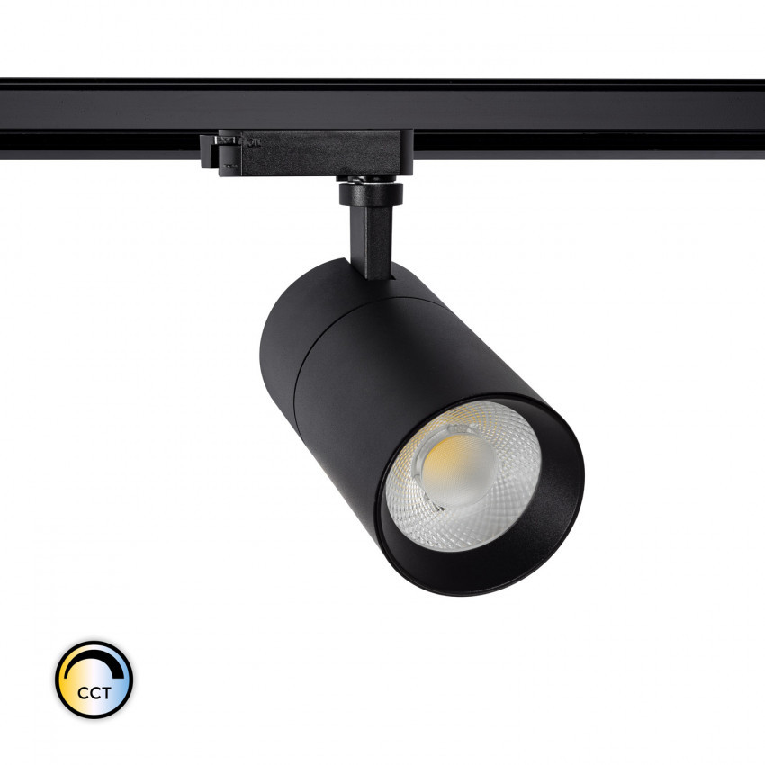 Spot LED New Mallet Dimmable CCT Sélectionnable 20W pour Rail Monophasé