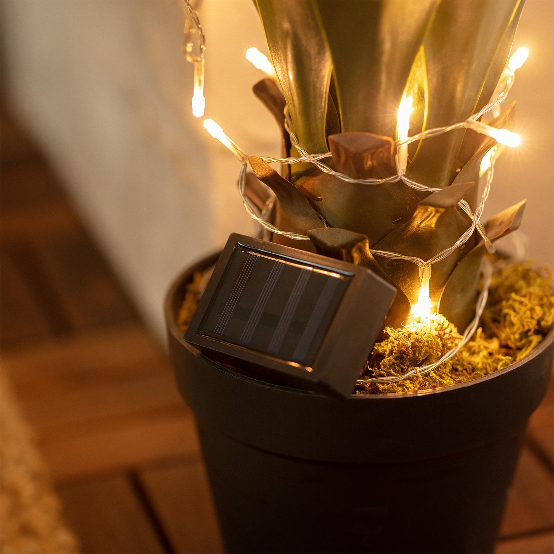 Guirnalda LED Solar Lilac