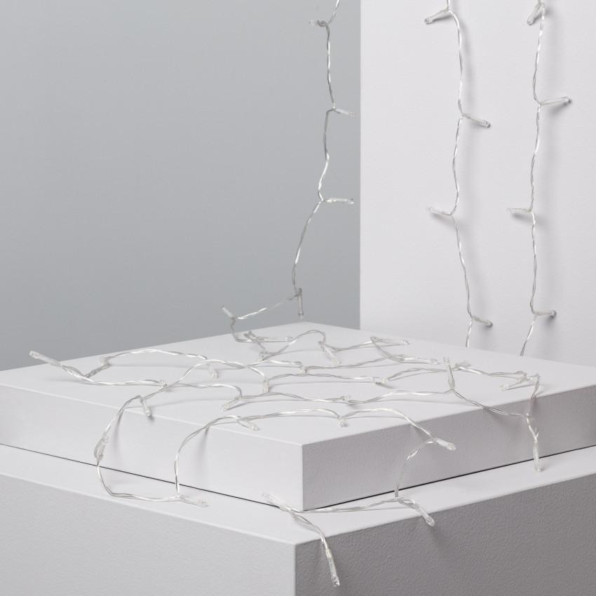 Guirlande LED Solaire Lilas 5m
