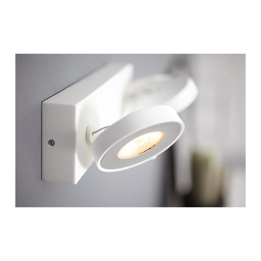 Plafonnier LED Dimmable WarmGlow 2x4.5W PHILIPS Clockwork