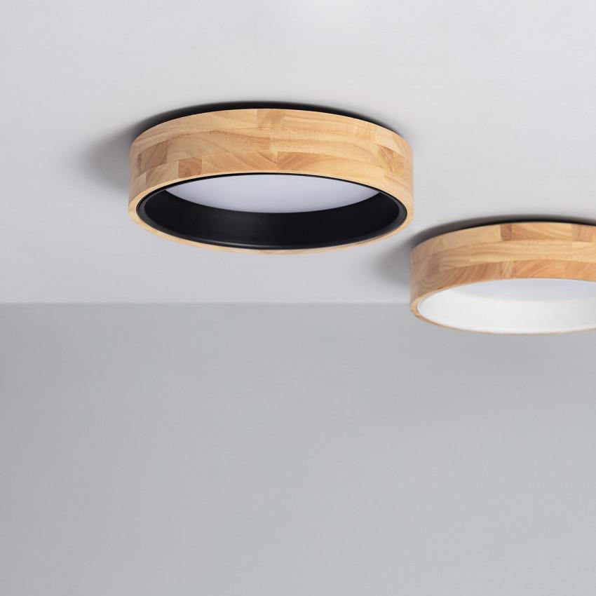 Plafonnier LED Rond CCT Sélectionnable Dari 15W