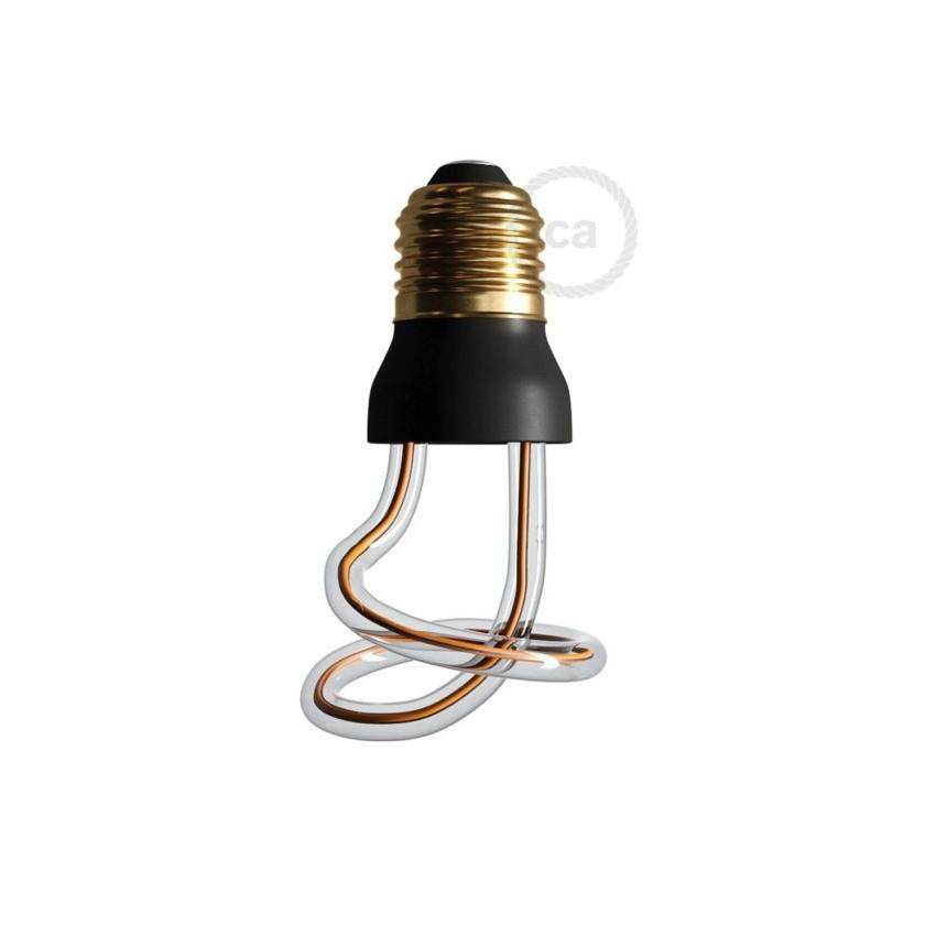 Ampoule LED E27 Dimmable Filament 8W Art Loop Curled Creative-Cables Modèle SEG50149