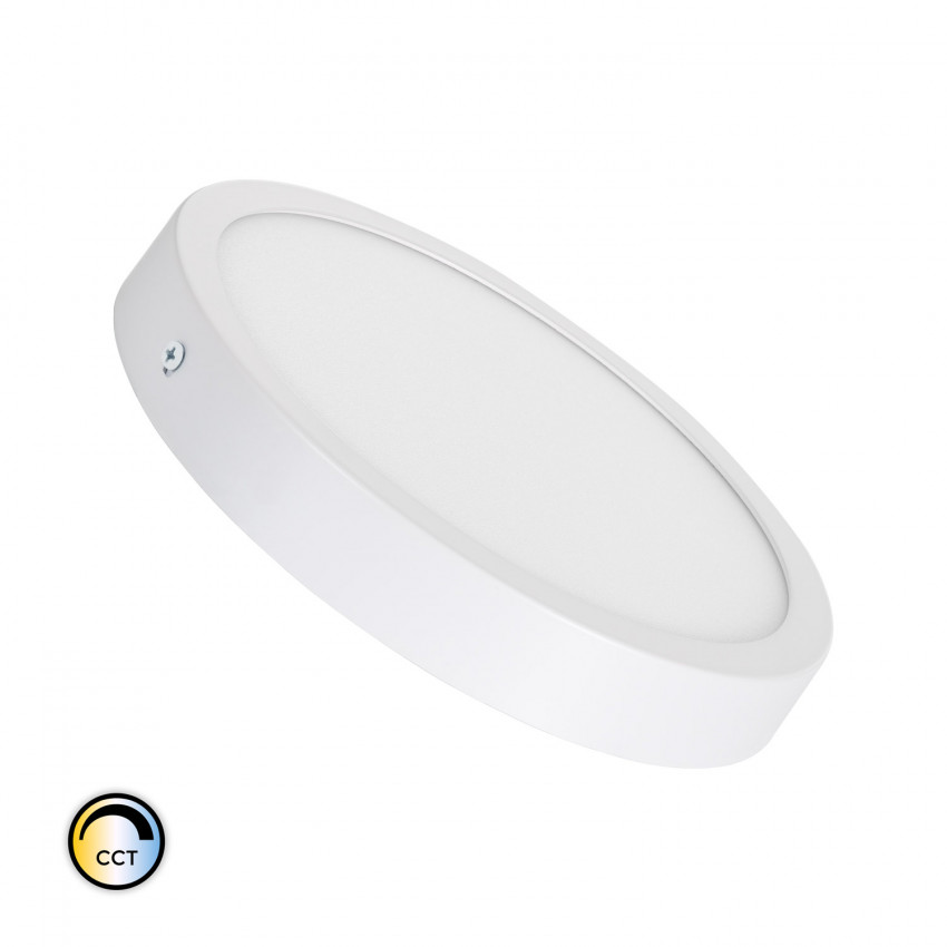 Plafonnier LED Rond LED 18W Extra-Plat CCT Sélectionnable