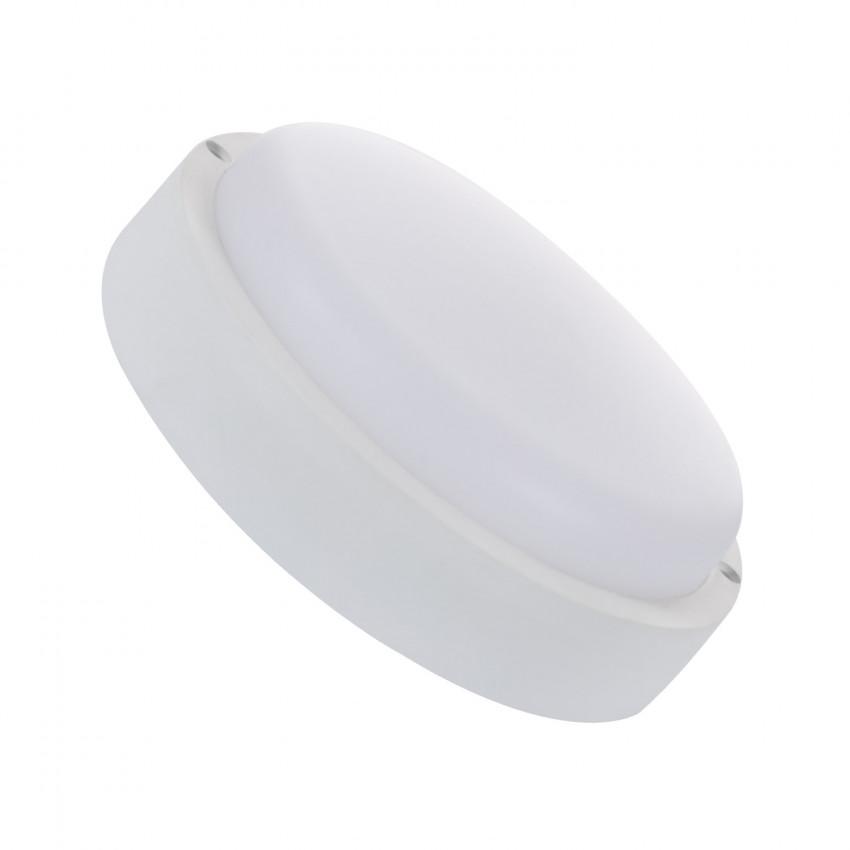 Plafonnier LED Hublot Rond White 25W IP65 avec Détecteur de Mouvement