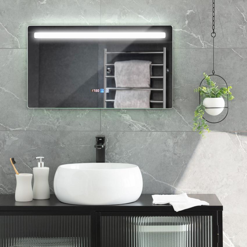 Miroir LED Anti-buée Tactile Benagil 40x70cm