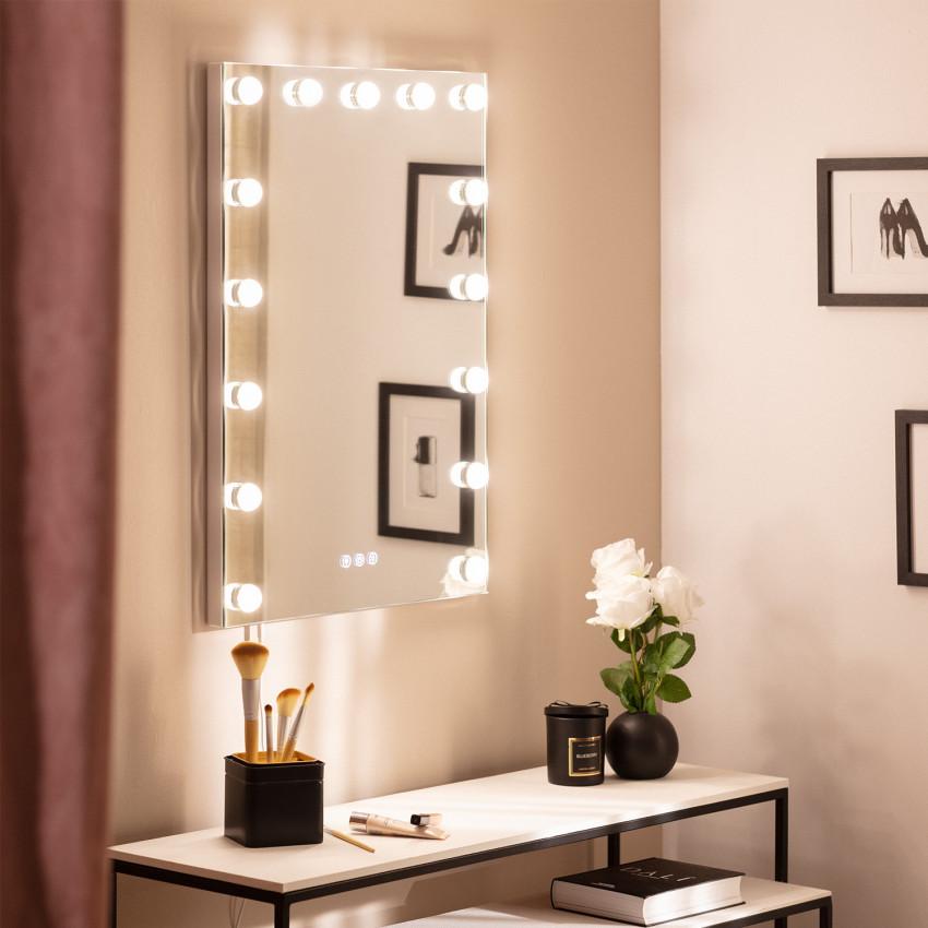 Miroir LED avec Interrupteur Tactile Essauira 70x50cm