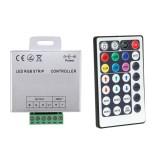 Contrôleur Ruban LED RGB 12V,  Dimmable par Télécommande RF 28 Touches