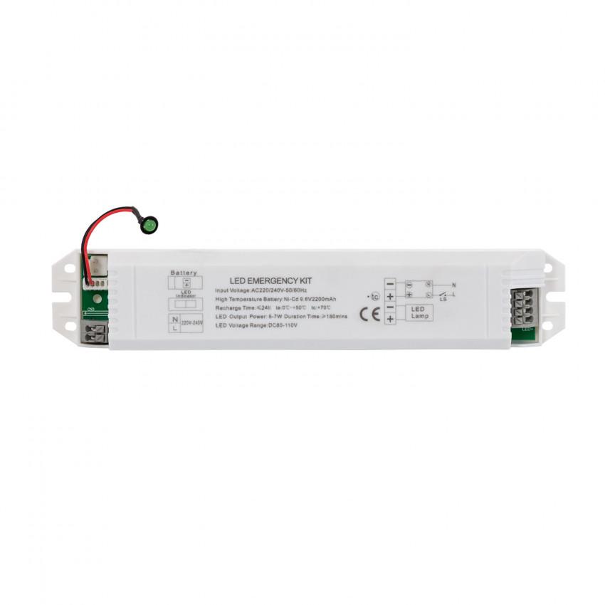 Kit d'Éclairage d'Urgence pour Luminaire LED Permanent/non Permanent