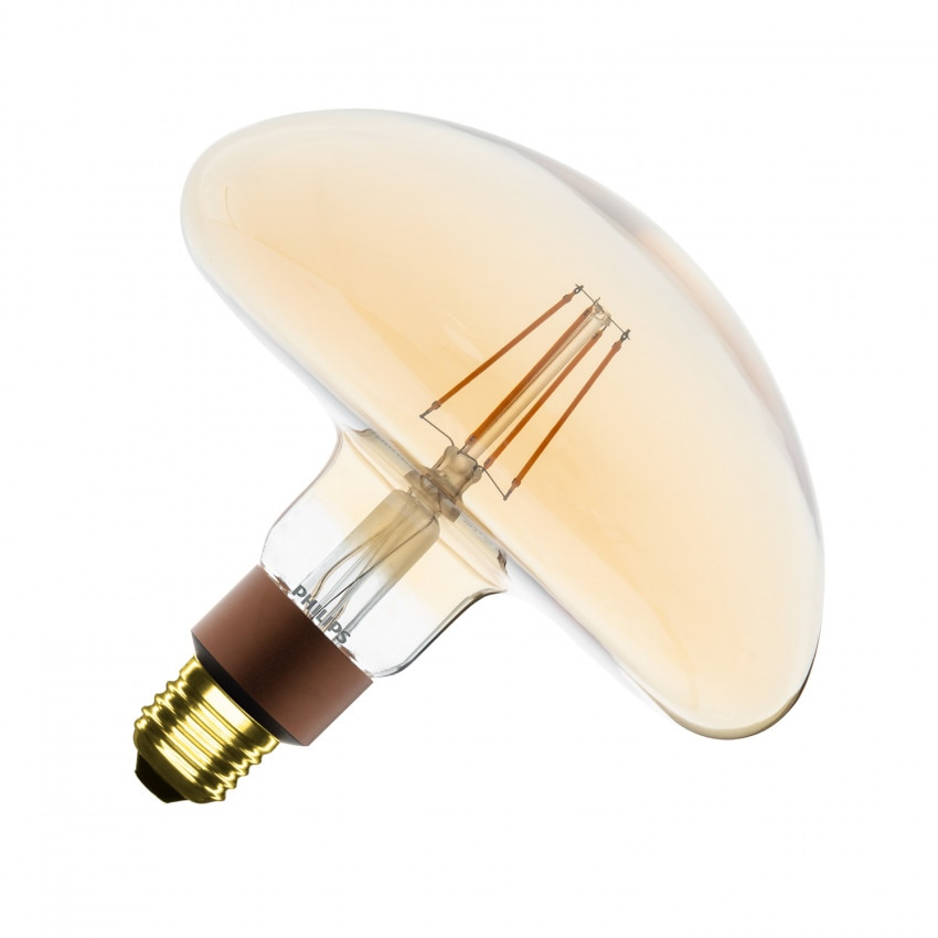 Ampoule LED E27 Dimmable Filament Gold Classic PHILIPS Mushroom G202 5W