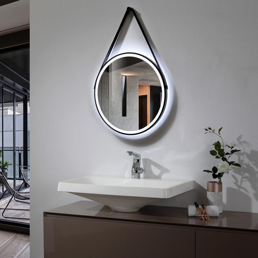 Miroir Décoratif LED Anti-buée Tactile Fiyi 40W
